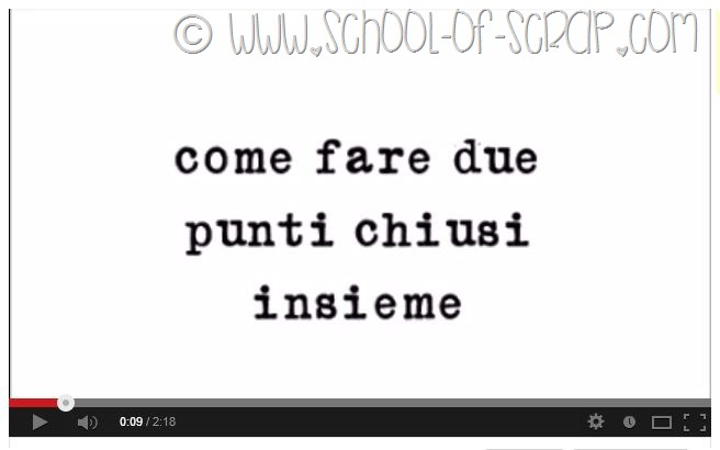 Scuola di Uncinetto: come si fanno due punti chiusi insieme video
