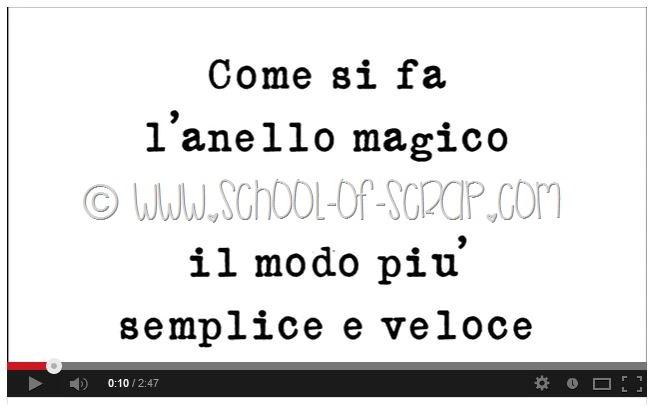 Scuola di Uncinetto Video: come si fa l'anello magico
