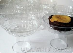 Eco Craft Tour: alzatine monoporzione per muffin e cupcakes