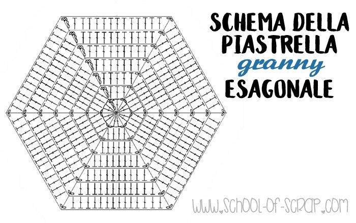 Scuola Di Uncinetto Come Si Fanno Le Piastrelle Esagonali Facili