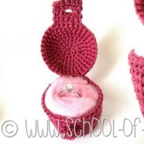 Uncinetto per San Valentino: Crochet Jewelry Box