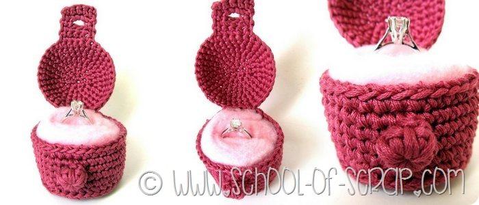 Uncinetto per San Valentino: Crochet Jewelry Box