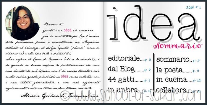 Idea, il Magazine online dedicato alla creatività