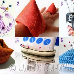 6 idee per fare dei puntaspilli particolari e fai da te