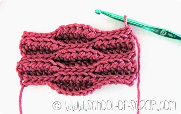 Alessia Scrap Uncinetto Bottoni A Fori Da Fare A Crochet Modello