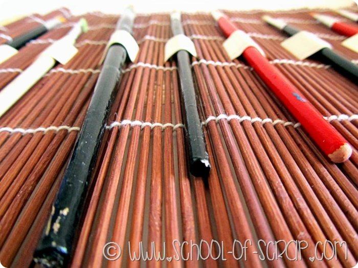 Porta pennelli o porta matite fatto in casa
