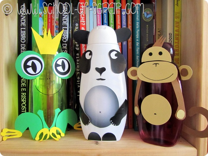 Animali Con Tubi Di Carta Igienica : Animali con rotoli di carta igienica presepe fai da te con la