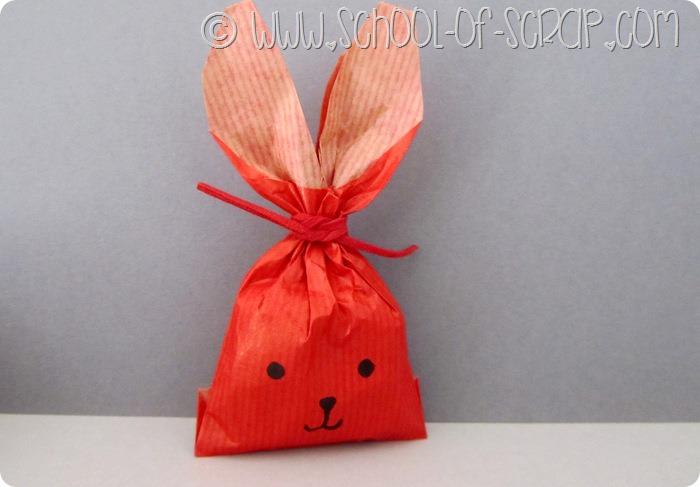 Lavoretti di Pasqua in #5minuti: i pacchetti coniglietti