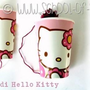Giocattoli fai da te: il bilboquet di Hello Kitty
