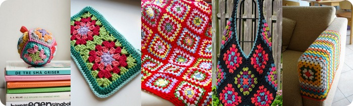 Come usare le piastrelle granny square old america 10 for 100 piastrelle all uncinetto