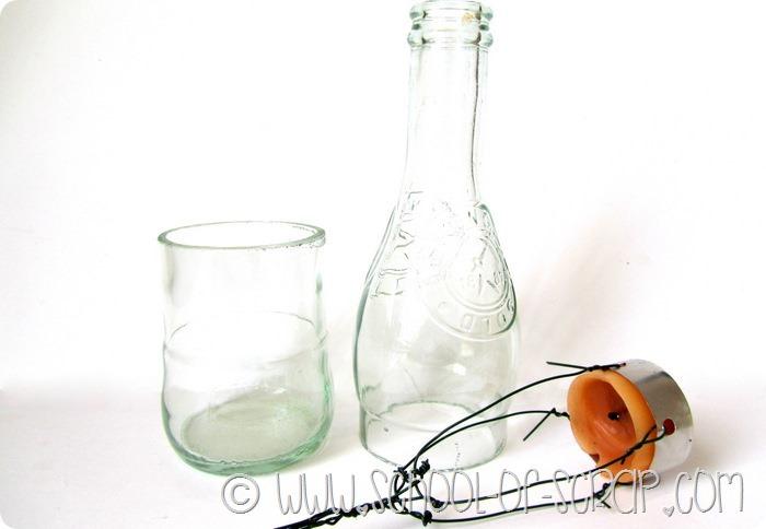 Eco Craft Tour di maggio: da vecchia bottiglia a lanterna per il giardino