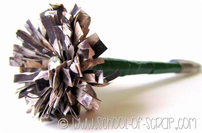 Favorito Regali fai da te per la festa della mamma: la penna con il fiore  PT18