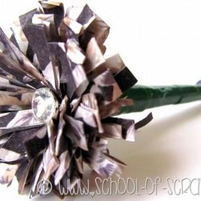 Regali fai da te per la festa della mamma: la penna con il fiore