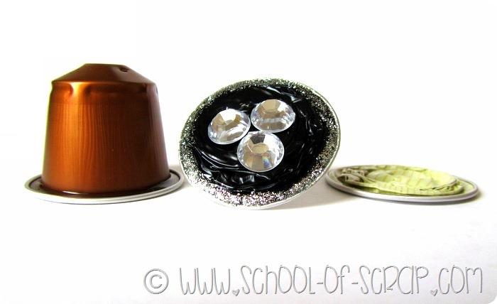 Come fare l'anello con le capsule del caffè in #5minuti