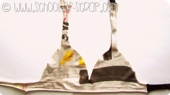 Dalla t-shirt che non piace più si può creare un bikini #questavoltaciriesco