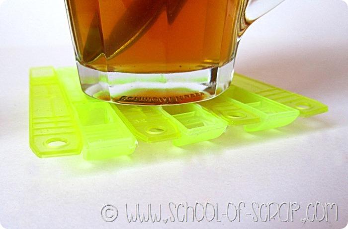 Come riciclare le mollette da bucato rotte: facciamo i sottobicchieri