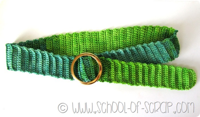 Scuola di Uncinetto: come fare una cintura a crochet