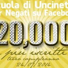 24 luglio 2014: Scuola di Uncinetto per Negati compie 3 anni e supera i 20mila membri