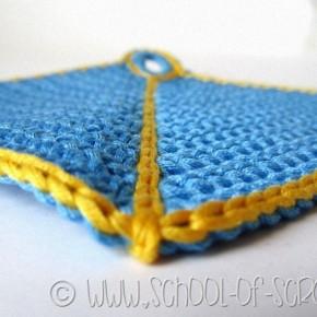 Scuola di uncinetto: come fare una presina bellissima a crochet
