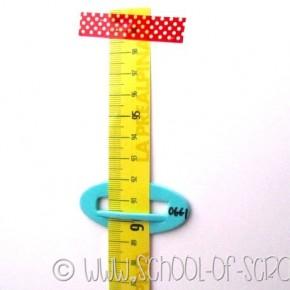 Come fare un metro Misura bambini da parete riciclando un metro dell'Ikea