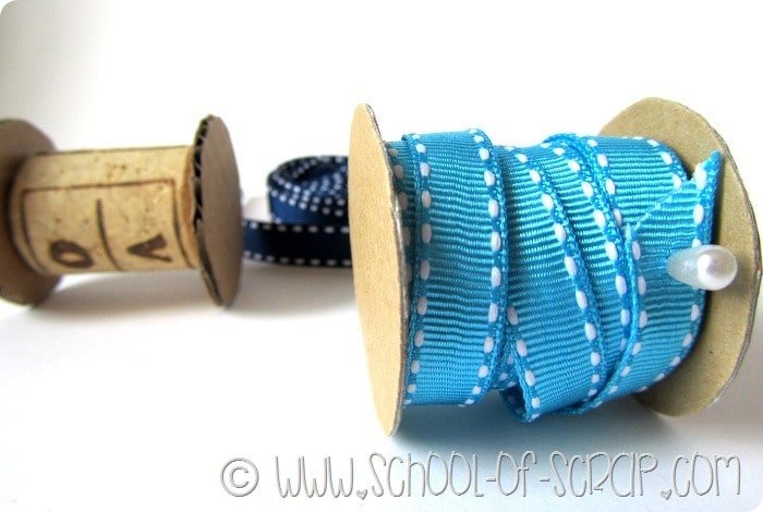 Come costruire rocchetti porta fili e nastri in 5 minuti e a costo zero
