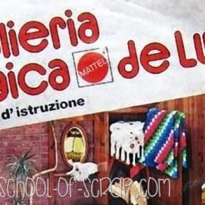 LIBRETTO DI ISTRUZIONI completo di MAGLIERIA MAGICA DELUXE
