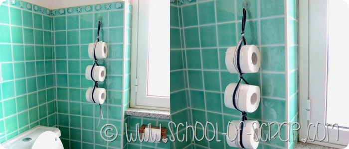 Come fare un portarotoli per il bagno in 5 minuti