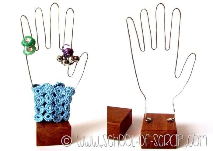 Idee da 5 minuti: come fare il porta bijoux fai da te