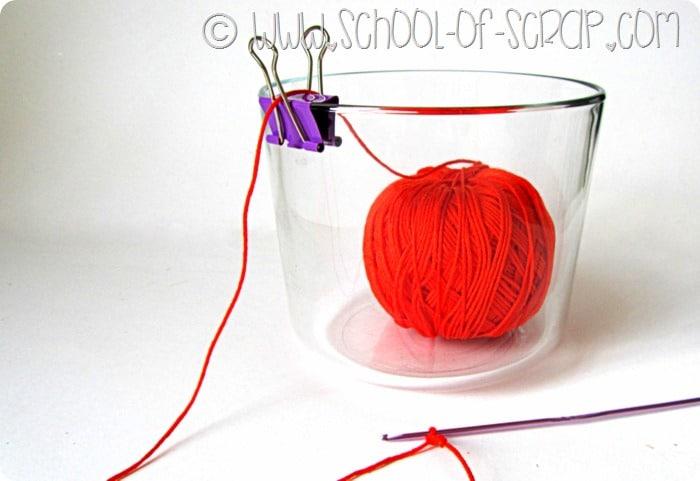 Idee in 5 minuti: il porta gomitolo geniale per maglia e uncinetto