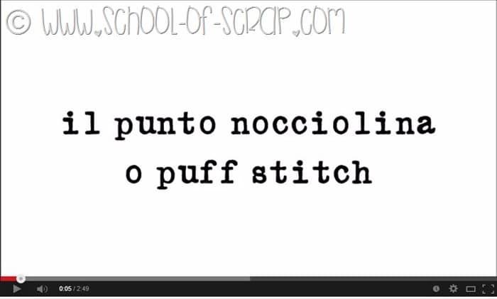 Scuola di Uncinetto: video per imparare il punto nocciolina in 2 minuti
