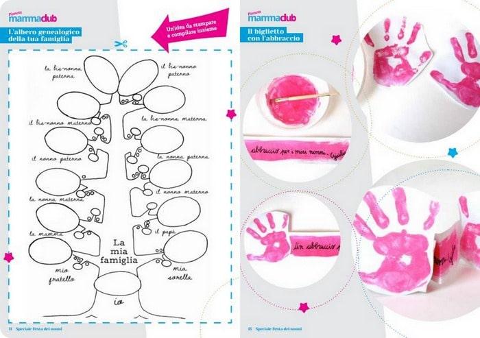 Festa dei nonni: un ebook speciale da scaricare con lavoretti, poesie e disegni.