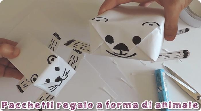 come fare pacchetti divertenti a forma di animaletto video tutorial