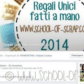 Iniziative utili: torna Regali Unici Fatti a Mano per il Natale 2014