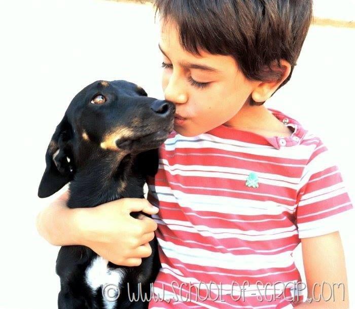 Bambini, animali da compagnia e Purina con #mammeascuoladipetcare
