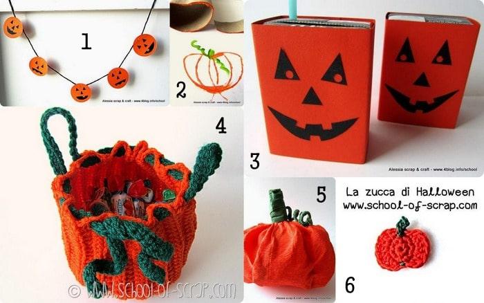 12 idee creative per zucche di Halloween fai da te  8c0809e46677