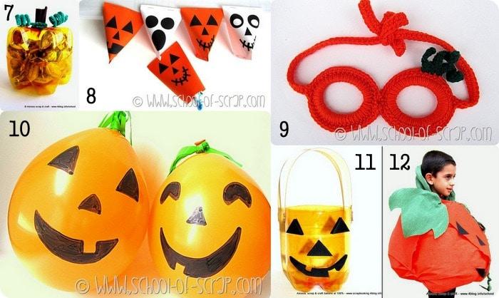 12 idee creative per zucche di Halloween fai da te