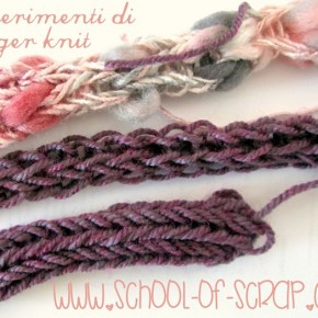 Finger Knit Video Tutorial: come fare il tricotin con le dita