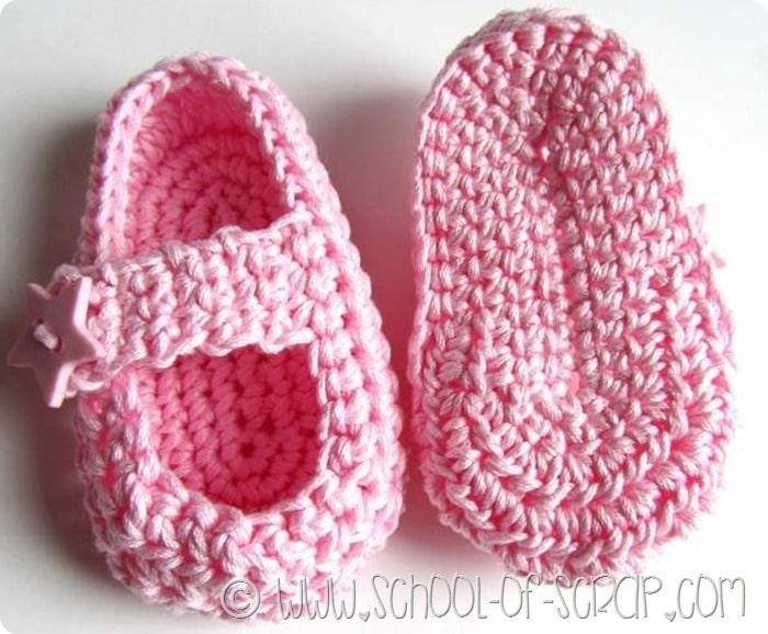 Molto Scuola di Uncinetto: come si fanno le scarpine per neonati Little  XT69
