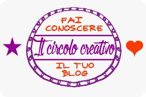 Il circolo della creatività: fai conoscere il tuo blog su Alessia scrap & craft