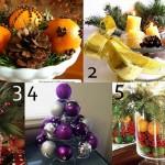 Raccolta di Idee: 10 tutorial per centrotavola fai da te per Natale