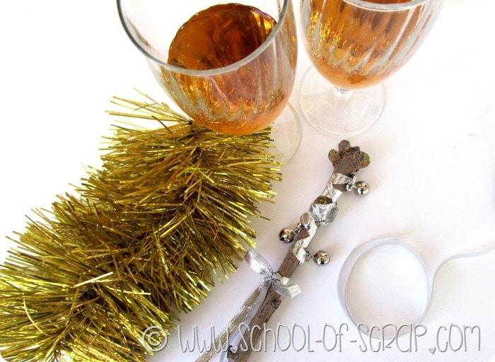 Idee decor per il cenone di San Silvestro: i sonagli DIY per Capodanno