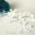 Idee per Natale: fai da te la pallina fiocco di neve in 3D