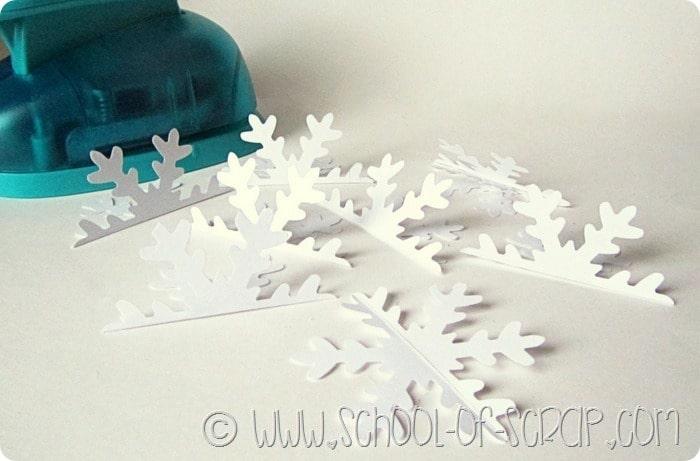 Fiocchi Di Neve Di Carta 3d : Idee per natale fai da te la pallina fiocco di neve in d