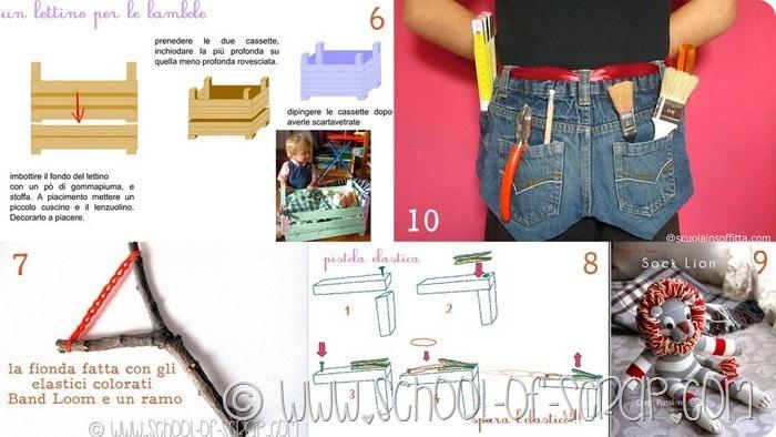 Raccolta di Idee: 10 regali faidate da mettere nella calza della befana per bambini