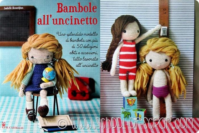 Libri E Crochet Bambole Alluncinetto Di Isabelle Kessedjian