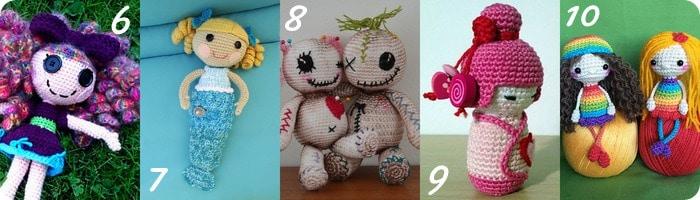Raccolta Di Idee 10 Progetti Per Fare Bambole Alluncinetto