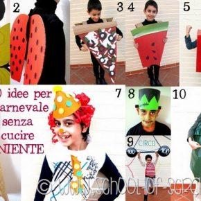 Carnevale fai da te: 10 idee per mascherare grandi e bambini senza cucire