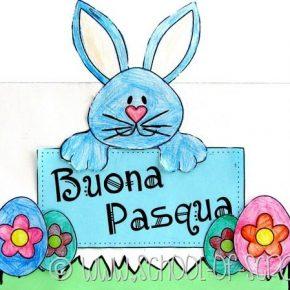 Buona Pasqua a tutte le creative con un bigliettino fai da te