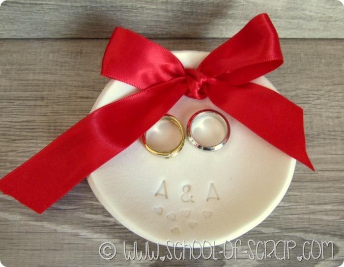 Matrimonio fai da te: come fare la ciotola portafedi con Pasta Nuvola