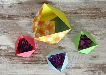 Idee Origami video: come fare ciotole portatutto di carta in 5 minuti